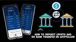 [CRYPTO.COM] HOW TO DEPOSIT CRYPTO AND DO BANK TRANSFER | BITCOIN WALLET