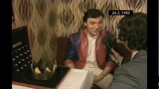 Karel Gott lže v Televizních novinách (1985)