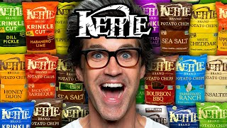 We Tried EVERY Kettle Chip Flavor
