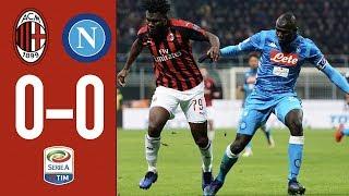 Highlights AC Milan 0-0 Napoli - Matchday 21 Serie A TIM 2018/19