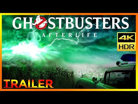 GHOSTBUSTERS 3 AFTERLIFE Official Trailer 2 (2021) 4K HDR ULTRA