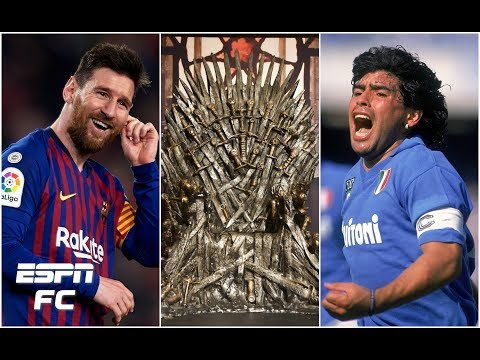 Messi or Maradona? Barcelona's front 3 or Liverpool's? Plus, Game of Thrones thoughts   Extra Time