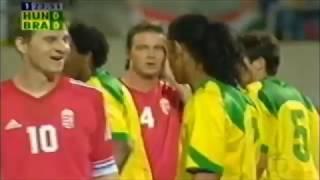 Ronaldinho vs Hungary (28/04/2004)