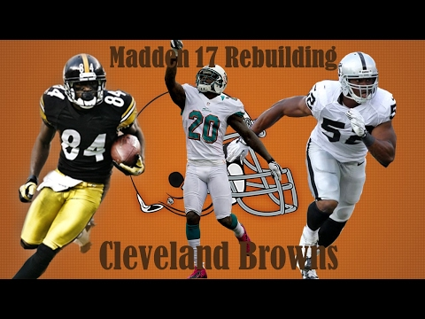 Madden 17 Connected Franchise | Rebuilding the Cleveland Browns | AMAZING DEFENSE!