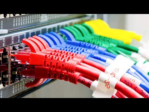 Structured Cabling dressing and termination