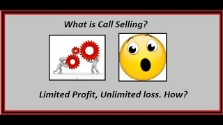 options trading for beginners - Call Selling explained
