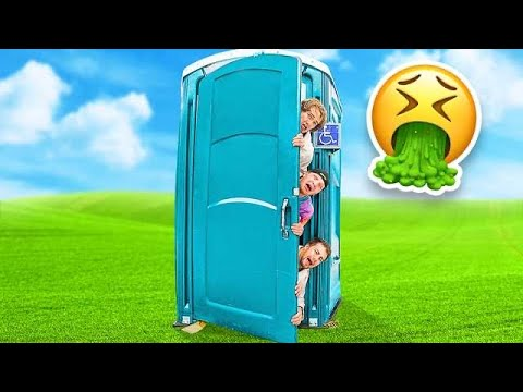 Download LAST TO LEAVE THE PORTA POTTY CHALLENGE! *GROSS*