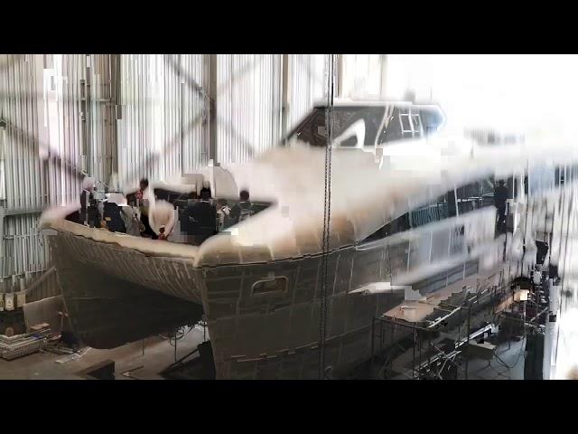 เรือไฟฟ้า ฝีมือคนไทย  เกิดขึ้นแล้ววันนี้ สวยหรู (EA Electric Ferry)