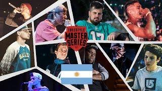 Candidatos Para La Freestyle Master Series Argentina l Batallas De Freestyle Rap