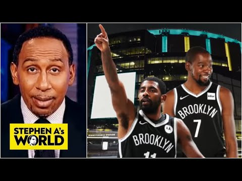 Stephen A.'s expectations for the Nets? Championship or bust!   Stephen A's World