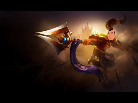 Be a man! -  Xin Zhao