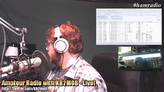 Amateur Radio With Kb2mob - Live!
