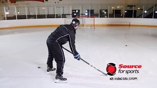 ccm ribcor titanium hockey stick   source for sports