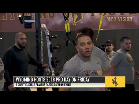 Wyoming Hosts 2018 Pro Day