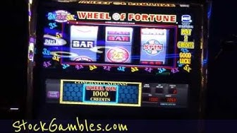 Progressive Slot Winner JACKPOT Slot Machine Wheel Of Fortune Progressive Cash Pay Out Reno Nevada