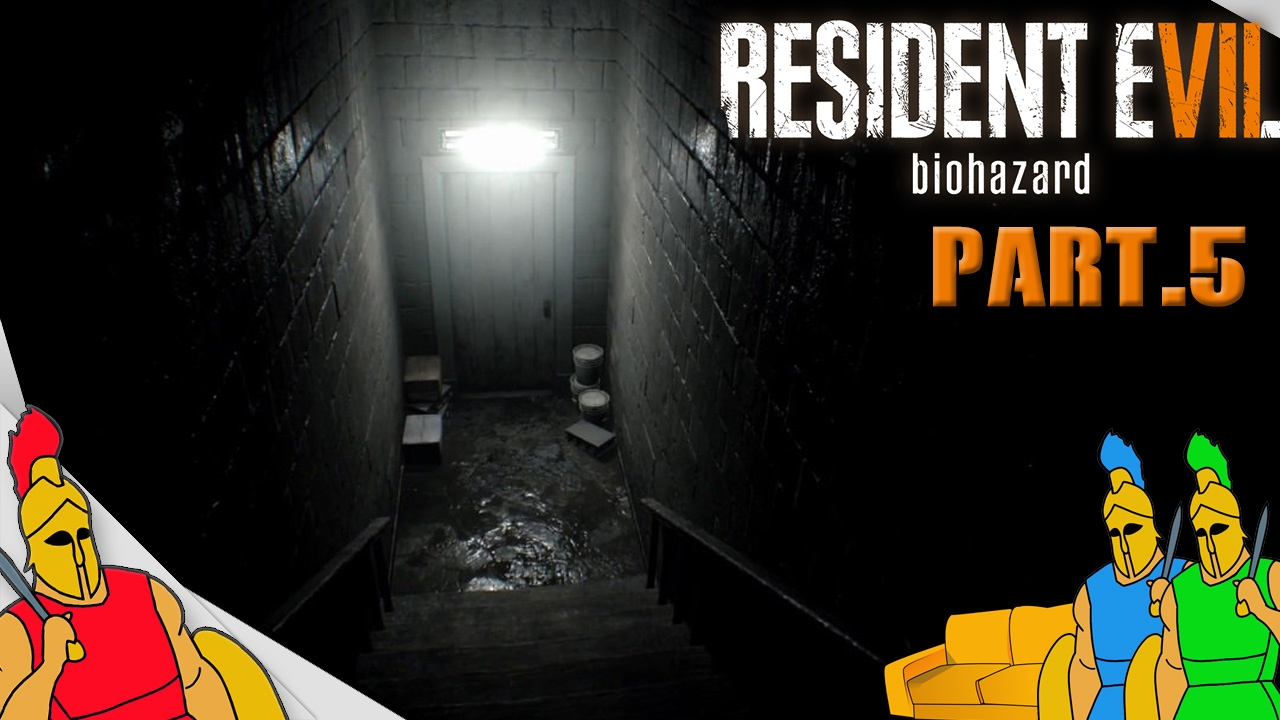Creepy Basement Stairs Resident Evil Couch Co Op Youtube