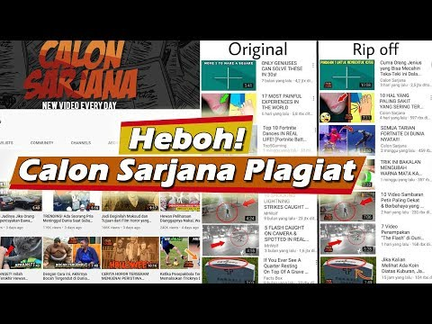 Diduga Menjiplak, Youtube Calon Sarjana Bikin Geram Netizen
