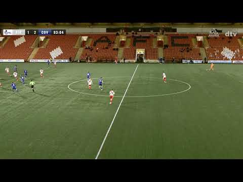 Airdrieonians Cove Rangers Goals And Highlights