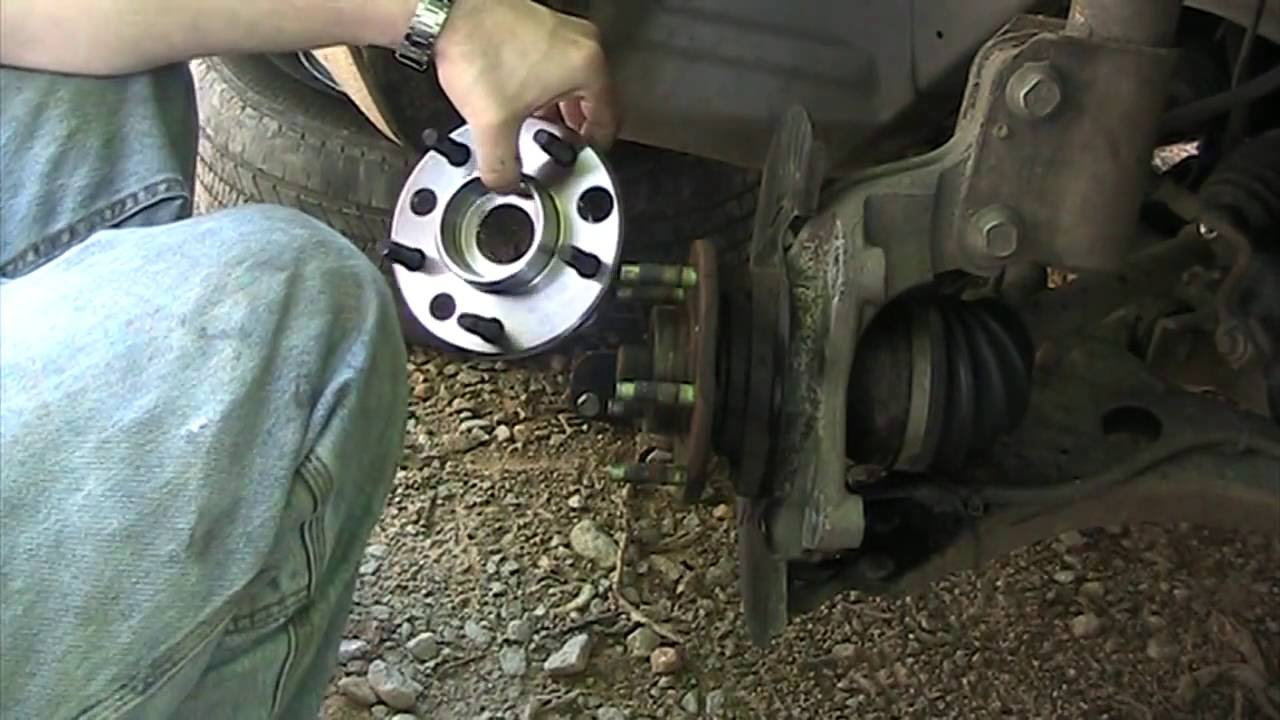Impala 2008 chevy impala wheels : Part 2 of 4 - Tear Down - 2008 Chevy Impala - How to Change Front ...