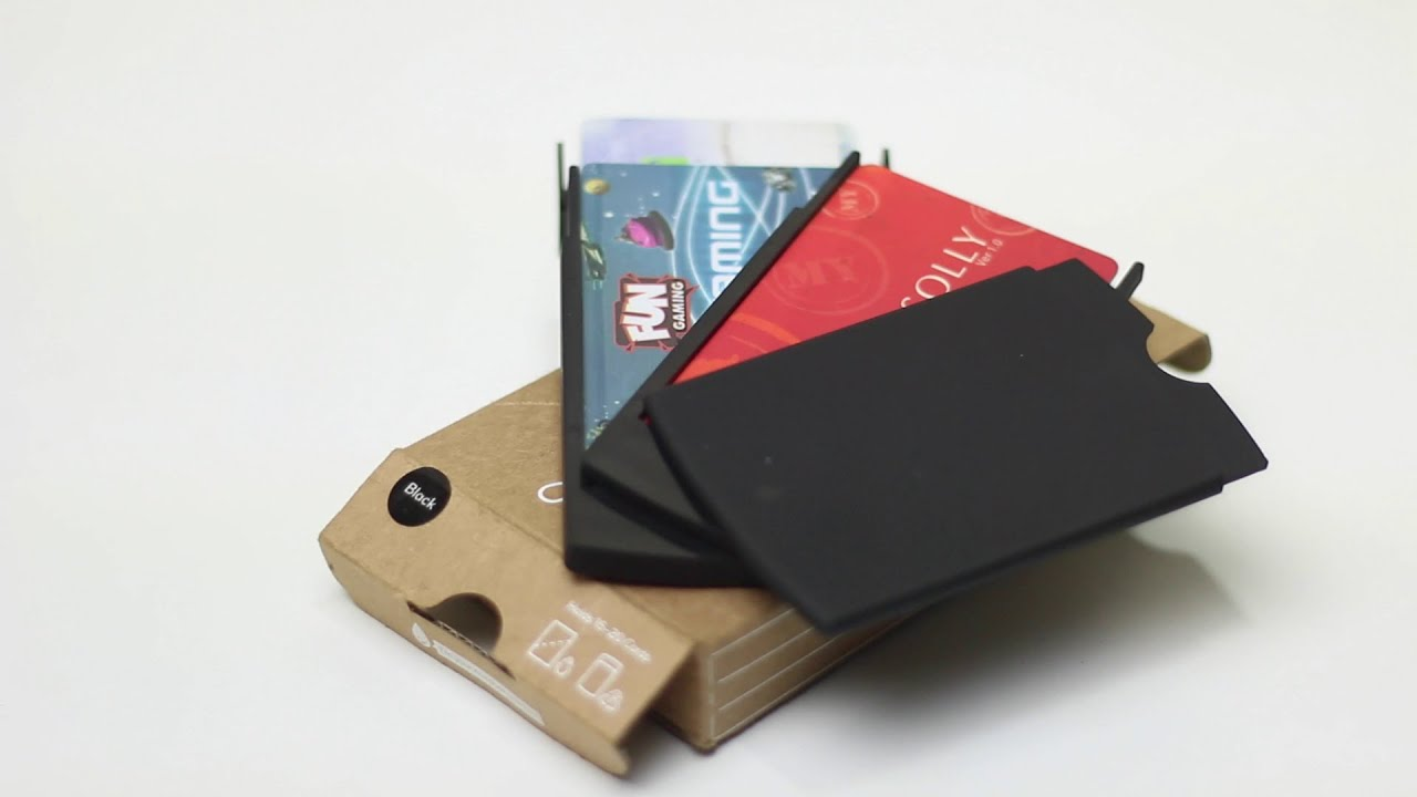 Moo Showcase Business Card Holder Review - YouTube