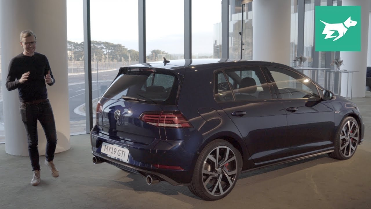 Volkswagen Golf Gti 2019 Performance 180kw Review Walkaround