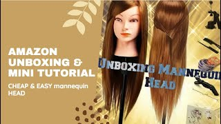 Unboxing Mannequin Head | Amazon Review |  20 Inches