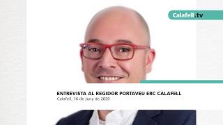 Entrevista al regidor portaveu d'ERC Calafell