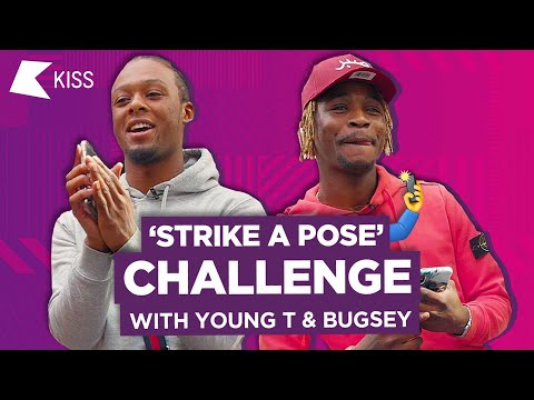 Young T & Bugsey take on the &39;Strike A Pose&39; Challenge 🤳