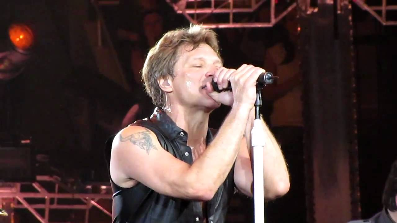 Bon Jovi - Roadhouse Blues, Old Time Rock & Roll and Shout (Live) 5-6-11