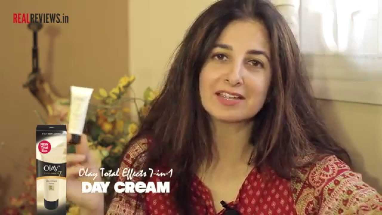 Sonal Nangia Reviews Olay Total Effects 7 In 1 Anti Ageing Day Cream One Night 50gr Youtube
