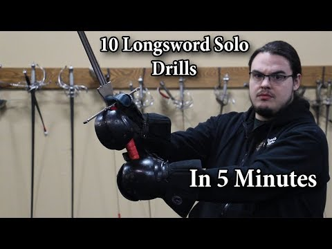 Download 10 Longsword Solo Drills in 5 minutes