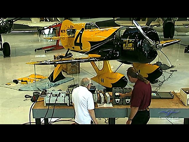 Flutter Testing the Gee Bee Z - Leon Tolve - Part One