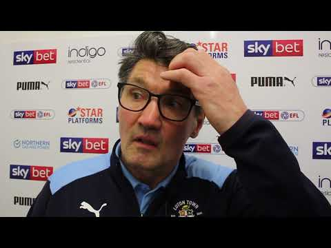 Mick Harford on the 2-0 win over Rochdale