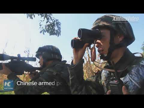 Challenging! Chinese Armed Police Hold Drill In Tropical Forest Terrain