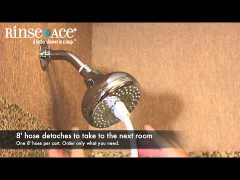 sink faucet rinser by rinse ace how
