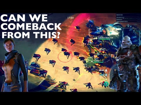 Halo Wars 2: Full Pop Banshees Catch us Completely off Guard!
