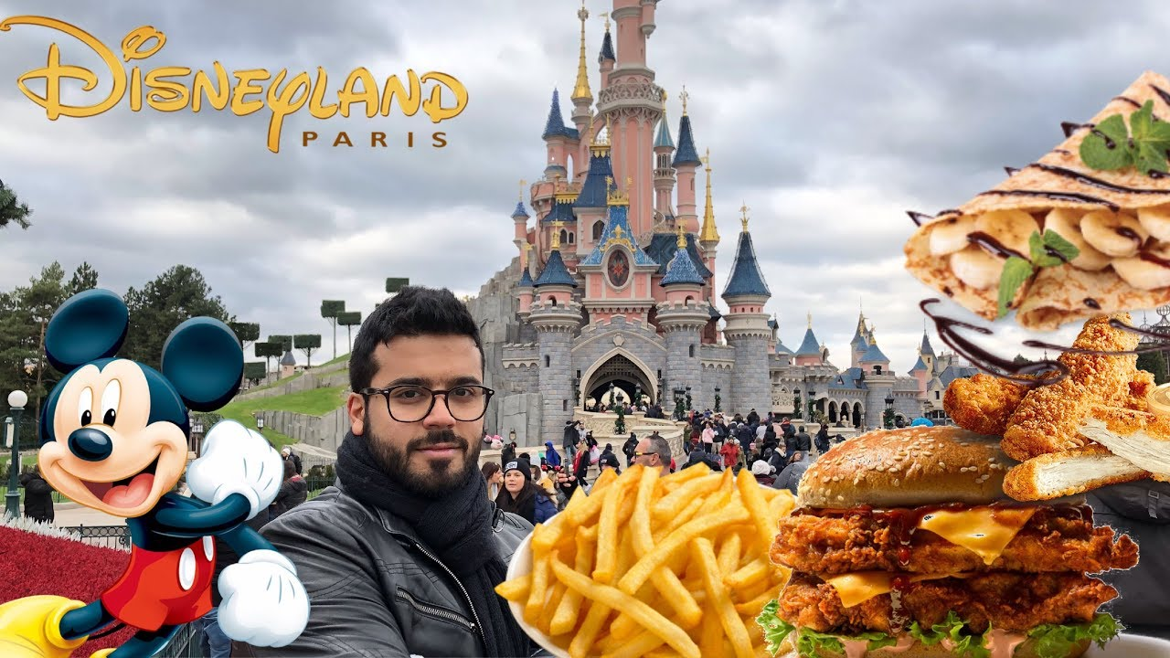 مداهمة ديزني لاند - باريس | Disneyland Food - Paris