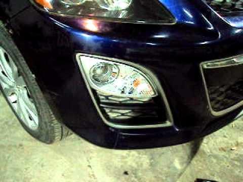 Front Fog Lamp Kit For Mazda Cx 7 2010 Youtube