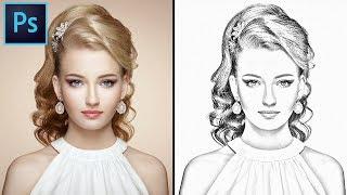 How to convert you Image into A Pencil Sketch in Photoshop. Photoshop Pencil Sketch effect tutorial. screenshot 4