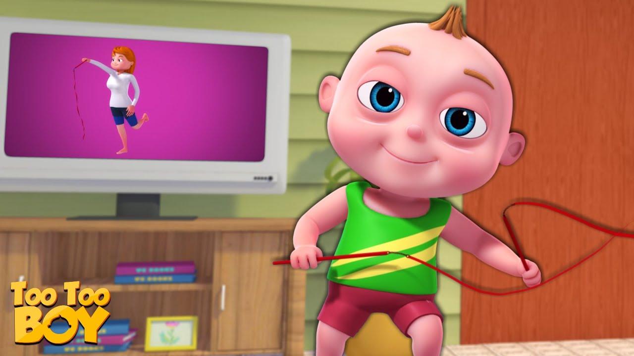 TooToo Boy - Gymnasium Episode | Cartoon Animation For Children |Videogyan Kids Shows | Funny Comedy
