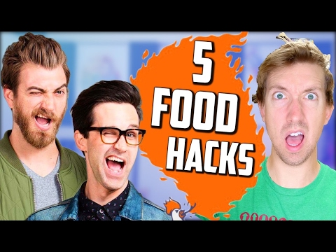 Rhett and Link of Good Mythical Morning 🍔 5 Fast Food Hacks