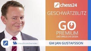Geschwätzblitz mit Jan Gustafsson, 14.08.2018