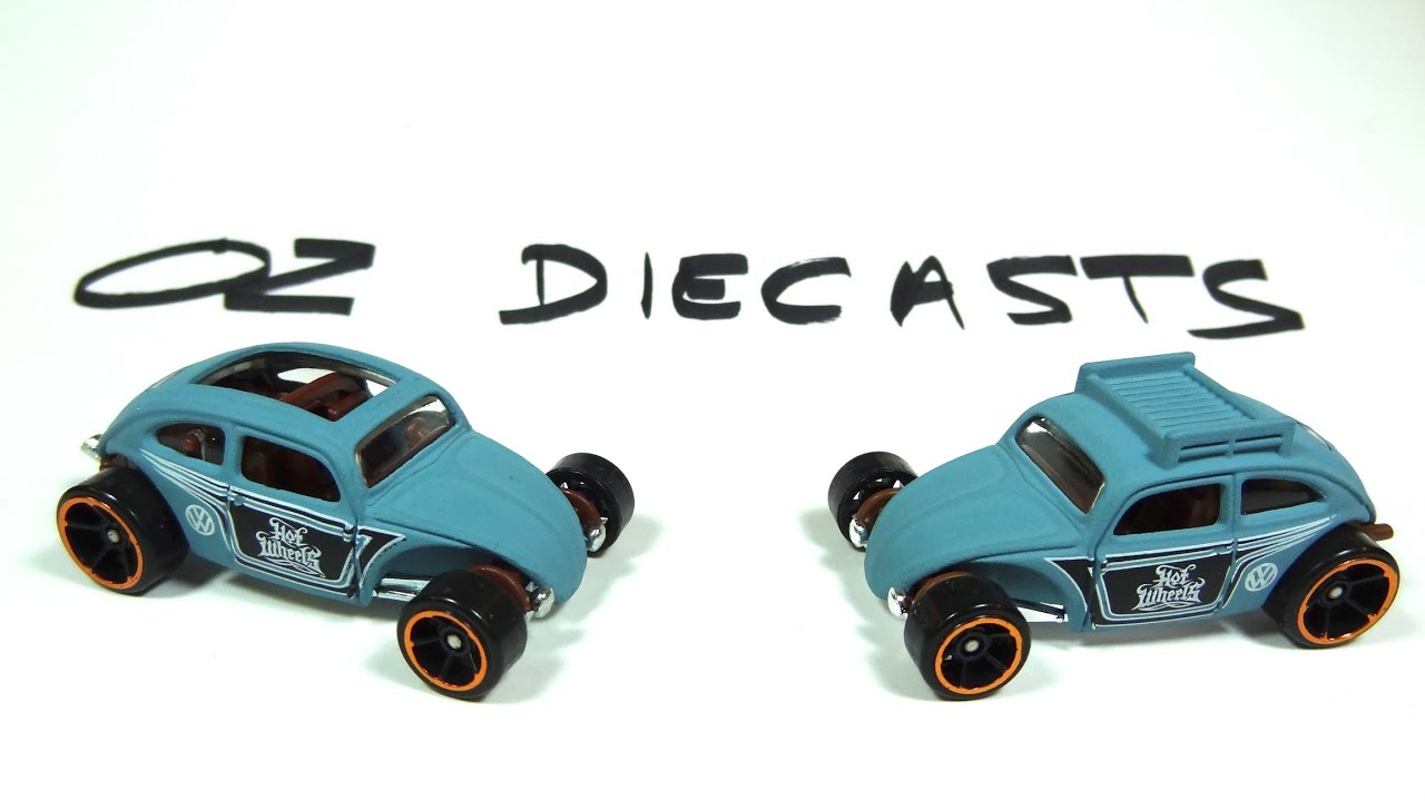 2016 hot wheels custom volkswagen beetle new casting. Black Bedroom Furniture Sets. Home Design Ideas