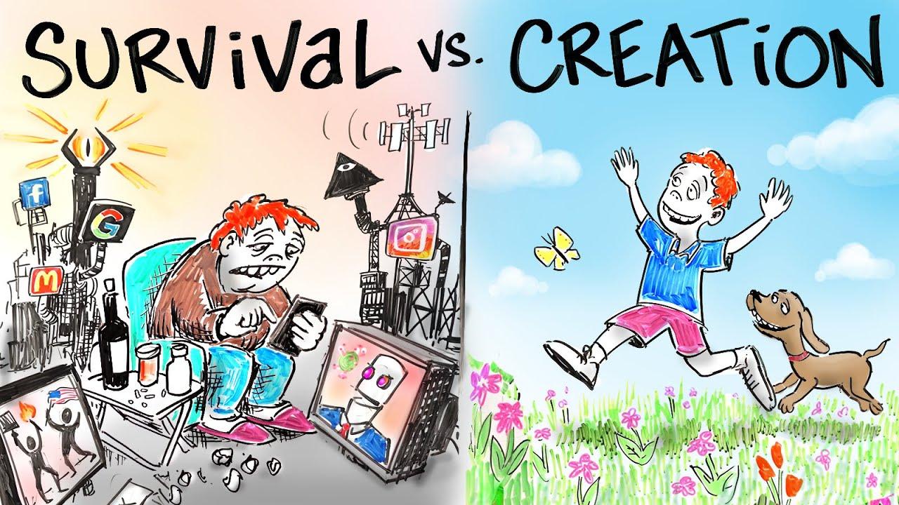 Download Living in SURVIVAL vs. Living in CREATION - Dr. Joe Dispenza