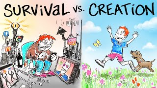 Living in SURVIVAL vs. Living in CREATION  Dr. Joe Dispenza
