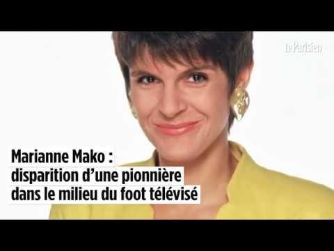 Marianne Mako : disparition d'une pionnière dans le milieu du foot télévisé