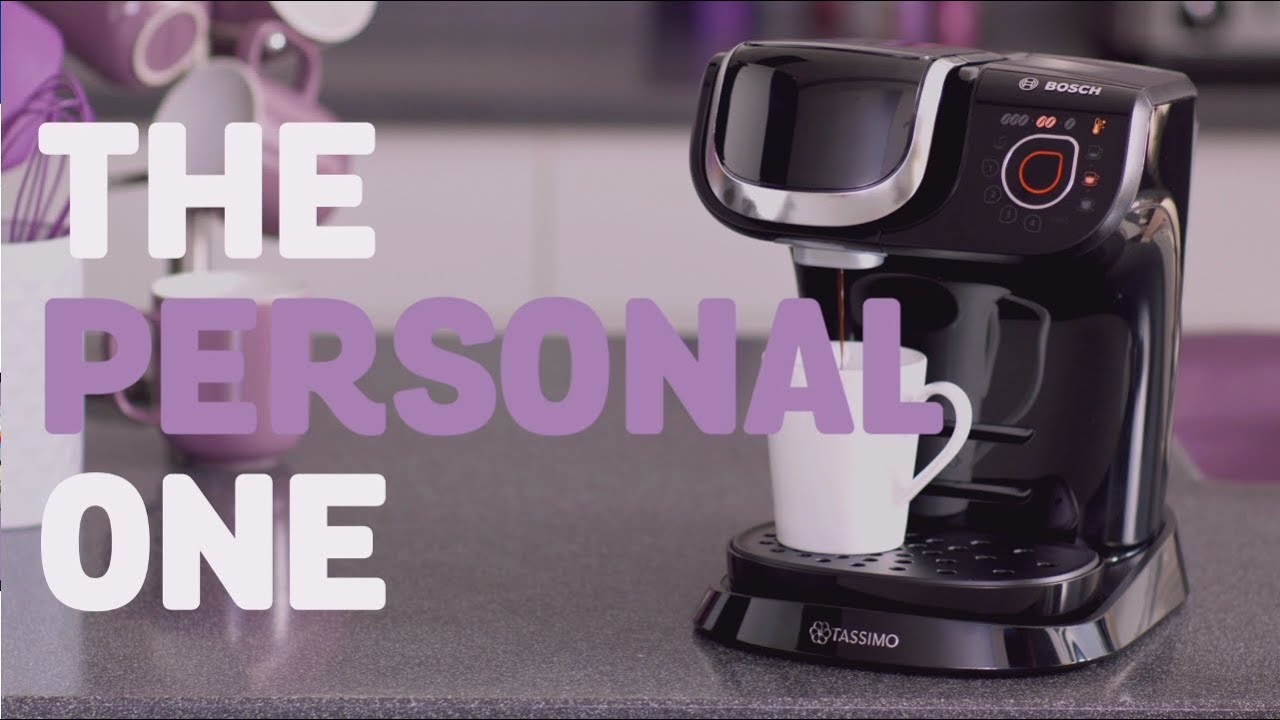 tassimo my way the personal one youtube. Black Bedroom Furniture Sets. Home Design Ideas