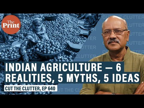6 tough realities & 5 dangerous myths on India's farm sector & 5 principles for reforming it