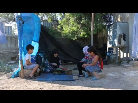 AFP news agency: Syrian IDPs from Aleppo celebrate Ramadan away from home