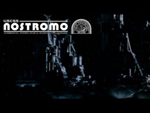 Anatomy of a Vessel: USCSS Nostromo - Registration 1809246(09)